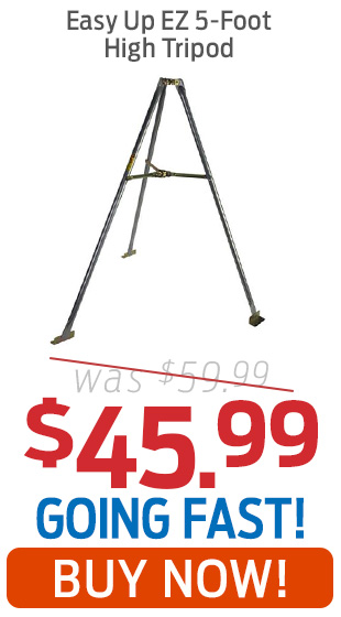 Easy Up EZ 5-Foot High Tripod Mount Just $45.99!