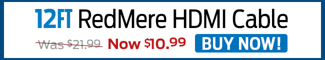 12ft. RedMere HDMI Cable - Buy Now!