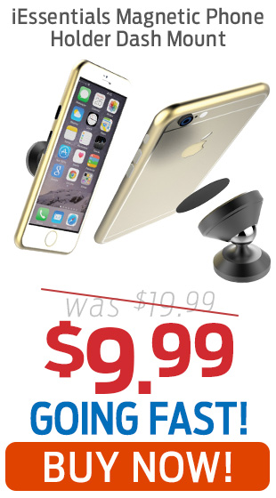 iEssentials Magnetic Phone Holder For Vehicle Dash Now Just $9.99!