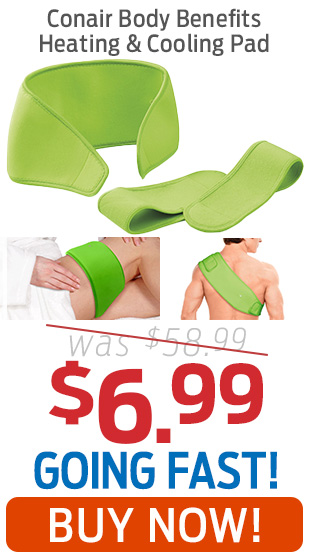 Conair Body Benefits Heating & Cooling Pad Only $6.99!