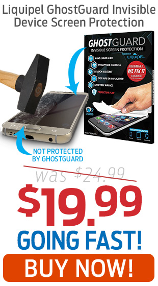 Liquipel Ghostguard Invisible Device Screen Protection Only $19.99!