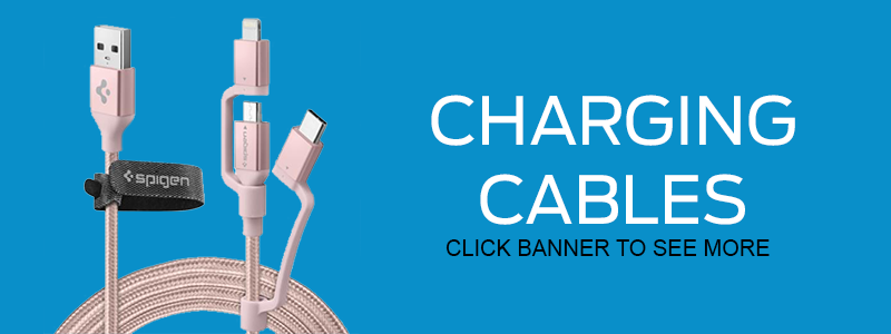 We offer a variety of charging cables - USB, MicroUSB, Android, Apple Lightning