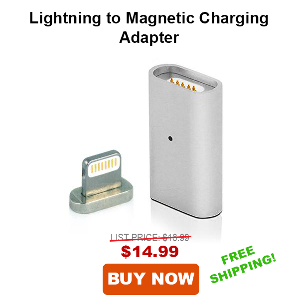 Lightning to Magnetic Charging Adapter for iPhone