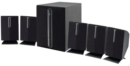 GPX 5.1-Channel Home Theater Speaker System (HT050B)