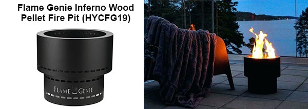 Flame Genie Inferno wood Pellet Fire Pit (HYCFG19)