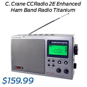 C. Crane CCRadio 2E Enhanced Ham Band Radio Titanium (CC2TE)