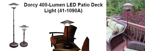Dorcy 400-Lumen LED Patio Deck Light (41-1090A)