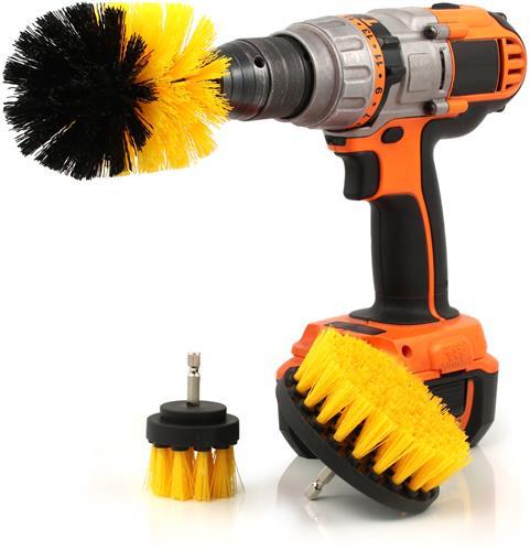 3-Piece Drill Brush Set