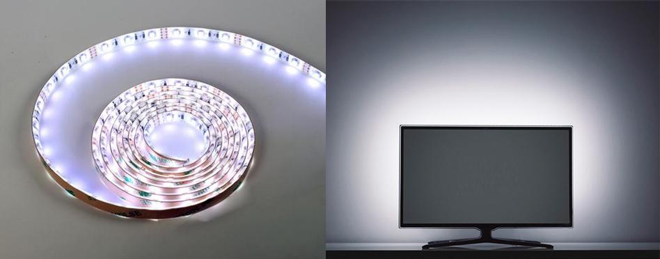 """78"""" LED Backlight Bias Kit for TV or Monitor w/ USB Connector (LEDBIAS-V2)"""
