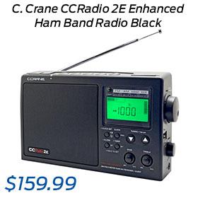 C. Crane CCRadio 2E Enhanced Ham Band Radio Black (CC2BE)
