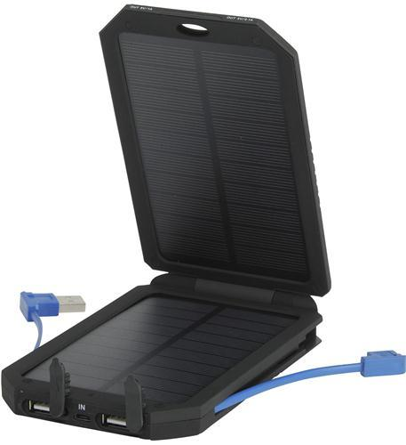 OLYMPIA Solar Power 5500mAh Charger with 2 Output